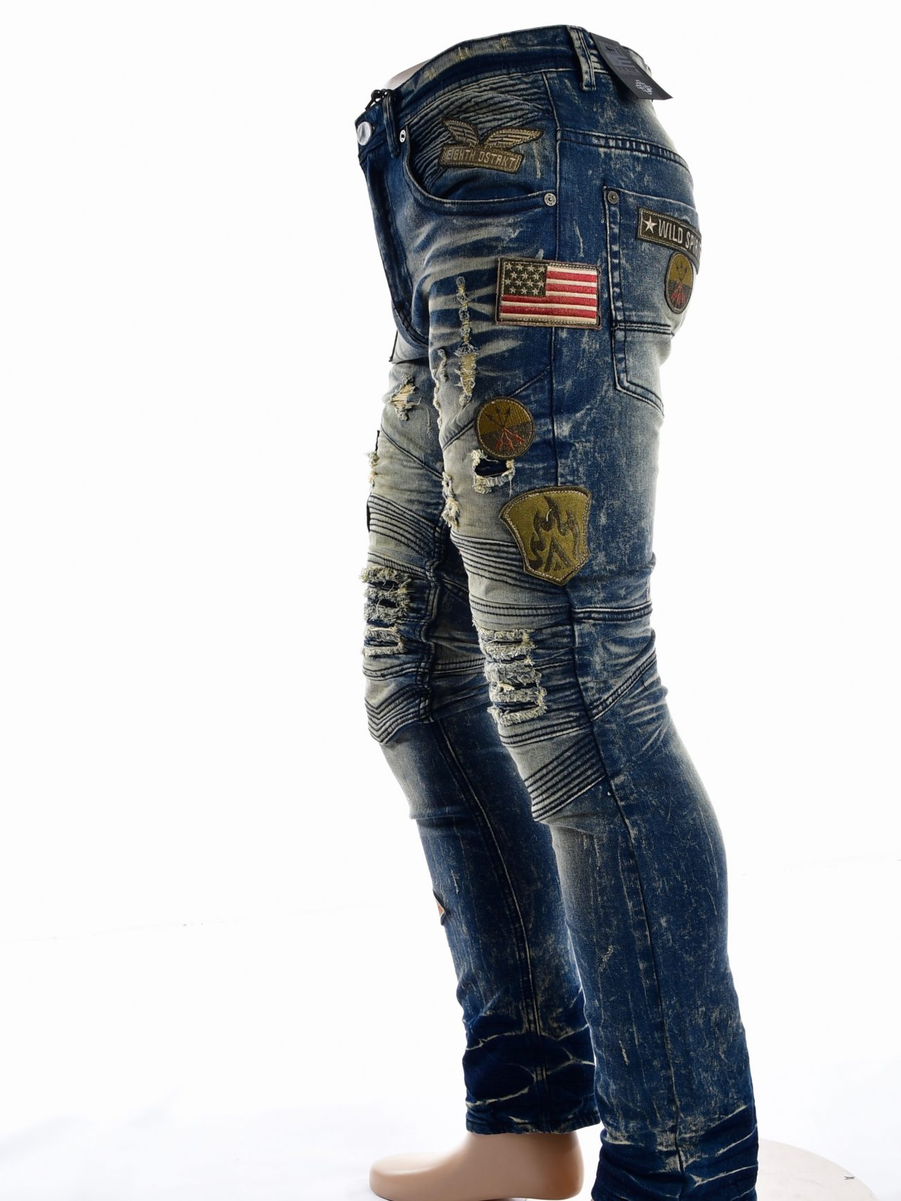 moto denim jeans mens